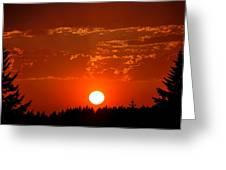 Beautiful Evening I Greeting Card