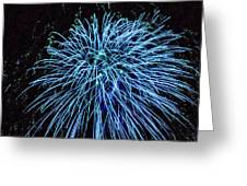 Beautiful Fireworks 13 Greeting Card