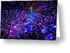 Beautiful Fireworks  3 Greeting Card