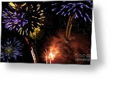 Beautiful Fireworks 5 Greeting Card