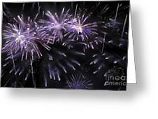 Beautiful Fireworks 7 Greeting Card
