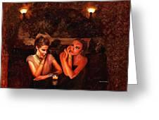 Beautiful Gossipers Greeting Card