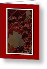 Beautiful Holiday Season Greeting Card