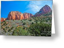 Beautiful Kolob Canyon Greeting Card