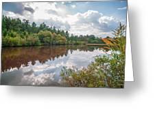 Beautiful Lake Reflections Greeting Card