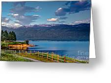 Beautiful Lake View Greeting Card