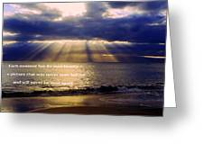 Beautiful Moment Greeting Card