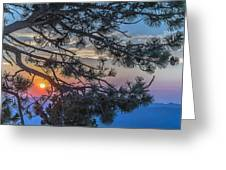 Pastel Morning Greeting Card