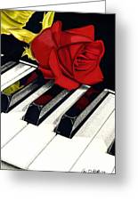 Beautiful Music Greeting Card