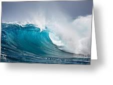Beautiful Ocean Wave Greeting Card by Boon Mee