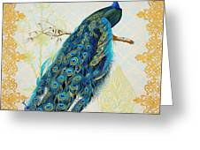 Beautiful Peacock-a Greeting Card