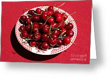 Beautiful Prosser Cherries Greeting Card