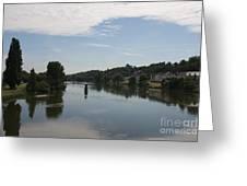 Beautiful River Loire  Greeting Card