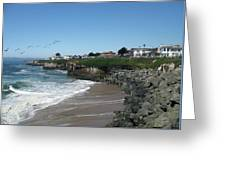 Beautiful Santa Cruz Coast Greeting Card