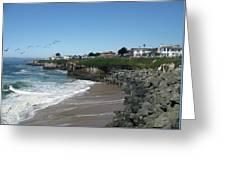 Beautiful Santa Cruz Coast Greeting Card
