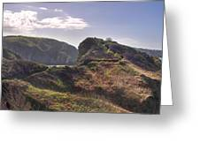 Beautiful  Sark One Of The  Channel Islands Greeting Card