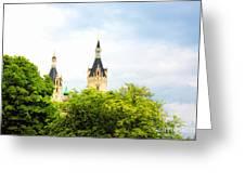 Beautiful Schwerin Castle Greeting Card