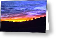Beautiful Sky Greeting Card