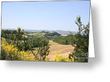 Beautiful Spot - Crete Senesi Greeting Card