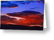 Beautiful Sunrise In Boise Greeting Card