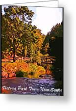 Beautiful Victoria Park Truro Nova Scotia Greeting Card