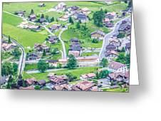 Beautiful Village Lauterbrunnen Greeting Card