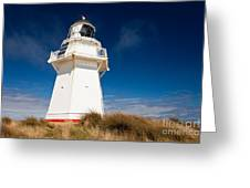 Beautiful Waipapa Point Lighthouse The Catlins Nz Greeting Card