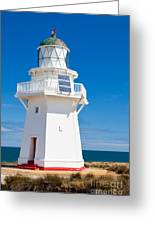 Beautiful Wairapa Point Lighthouse The Catlins Nz Greeting Card