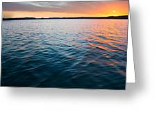 Beautiful Waters Greeting Card