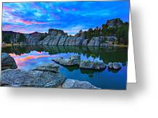 Beauty After Dark Greeting Card
