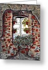 Beauty After Destruction Window Art Prints Greeting Card
