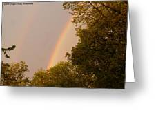 Beauty After The Storm Greeting Card
