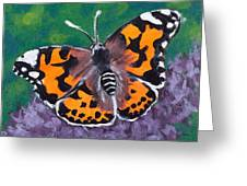 Beauty And The Lilac Greeting Card