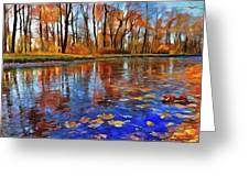 Beauty Fall Greeting Card