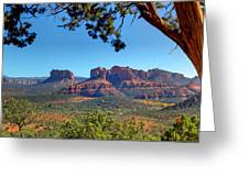 Beauty From Afar Greeting Card