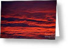 Beauty In Clouds Greeting Card by Rebecca Christine Cardenas