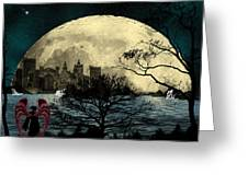 Beauty In Darkness Greeting Card
