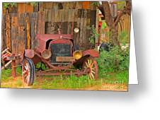 Beauty In Old Age Greeting Card