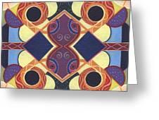 Beauty In Symmetry 1 - The Joy Of Design X X Arrangement Greeting Card