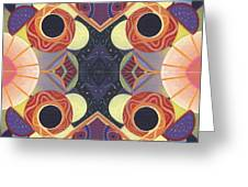 Beauty In Symmetry 3 - The Joy Of Design X X Arrangement Greeting Card