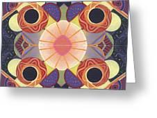 Beauty In Symmetry 4 - The Joy Of Design X X Arrangement Greeting Card