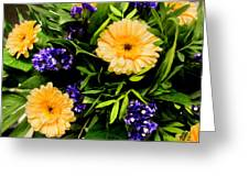 Beauty In The Gardem Greeting Card
