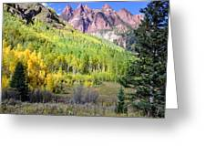 Beauty In The Mountains Greeting Card