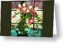 Beauty In The Window Greeting Card