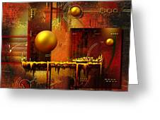 Beauty Of An Illusion Greeting Card