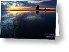 Beauty Of Oregon Cannon Beach 1 Greeting Card