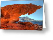 Beauty Of Sandstone Little Finland Greeting Card by Bob Christopher