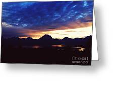 Beauty Of The Grand Tetons Greeting Card