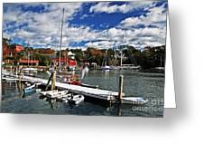 Beauty Of The Harbor Greeting Card