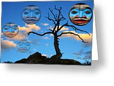 Magic Of The Pacific Northwest 3 Greeting Card